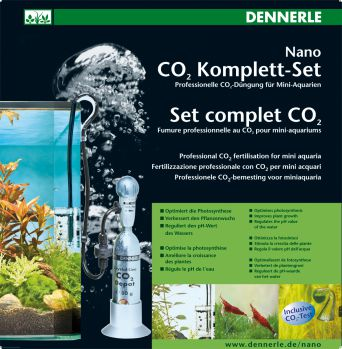 Система СО2 Dennerle Nano CO2 Komplett-Set