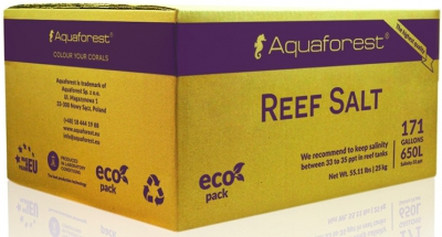 Соль Aquaforest Reef Salt - 25 кг